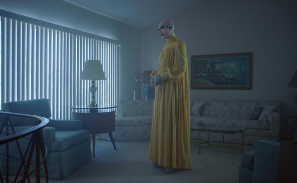 Sasha Velour stars in The Island We Made, an opera composed by Angélica Negrón and filmed in a mid-century Staten Island house.
