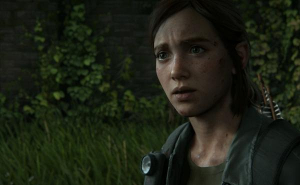 Ellie is one of the playable characters — and four years later, she's not the bubbly teenager she was in the first game.