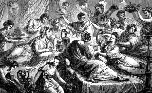 The banquet of a noble Roman in ancient Rome was more than a lavish social meal, it was a crucial power tool — a way of keeping your friends close and your enemies closer.