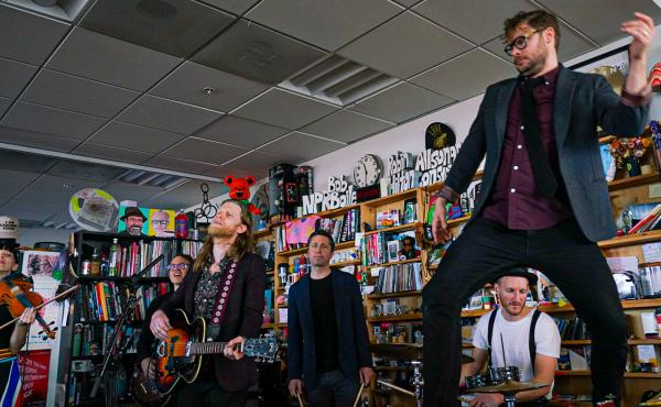 The Lumineers play a Tiny Desk Concert.
