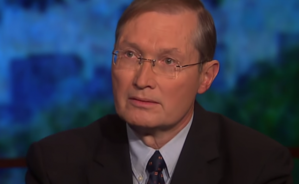 Mike Lofgren, a former congressional staffer, wrote The Deep State in 2016. While the term is now widely in use, it's not in the way that Lofgren intended. He appears here on a PBS program hosted by commentator Bill Moyers.