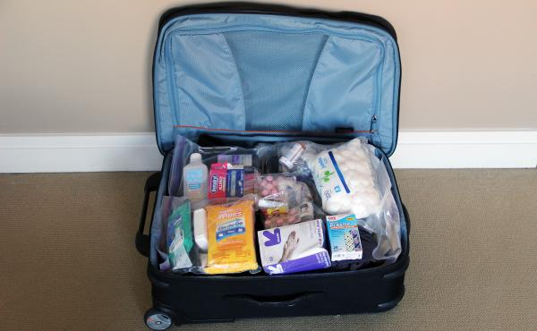 Anders Kelto's suitcase took its chlorine wipes on a detour to Paris.