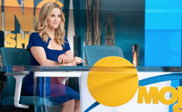 Bradley (Reese Witherspoon) has a new look as the second season of The Morning Show kicks off.