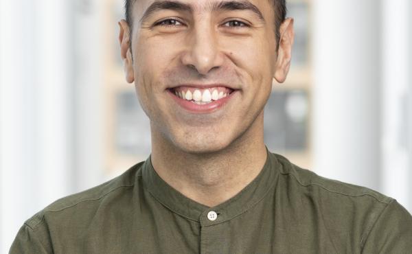 Ramtin Arablouei, photographed for NPR, 17 January 2019, in Washington DC.