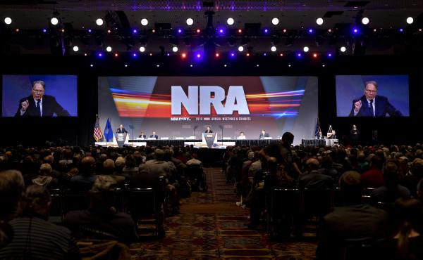 The National Rifle Association's annual meeting featuring thousands of supporters listening to high-profile speakers fueled its influence. But for the past two years, the crowds had to stay home.