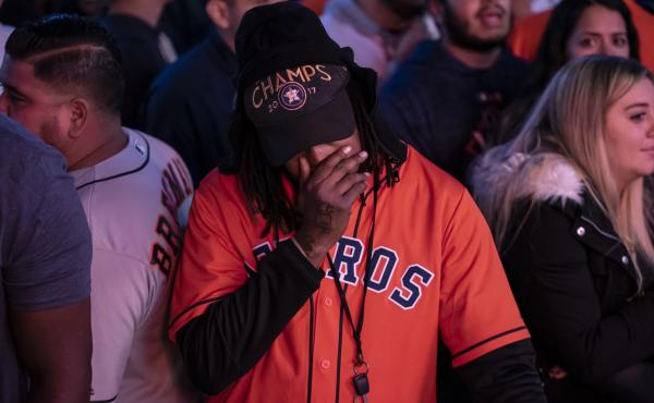 Houston Astros Fans React To Pivotal Game Seven Of World Series