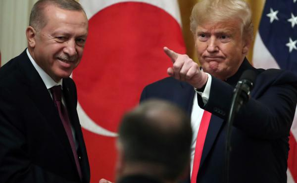 Donald Trump Welcomes Turkish President Tayyip Erdogan To The White House
