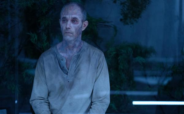 """""""I'll just ... I'll just wait here, shall I?"""": On The Passage, evil Tim Fanning (Jamie McShane) can't help but look bored as he bides his time. And bides, and bides and bides."""