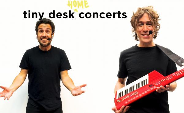 The Pop Ups play a Tiny Desk Home concert.