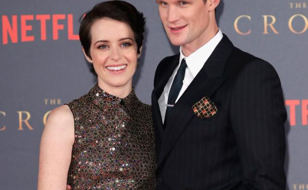 Actors Claire Foy and Matt Smith attend the world premiere of season 2 of Netflix's The Crown in London last year.
