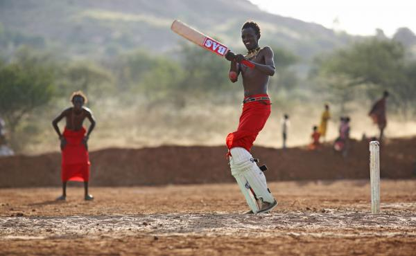 A new documentary shows how the young Maasai men in Il Polei fell in love with cricket — and use the sport to send a message to their village elders.