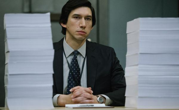 In The Report, Adam Driver plays staffer following the CIA's paper trail of post-9/11 detention and interrogation tactics.