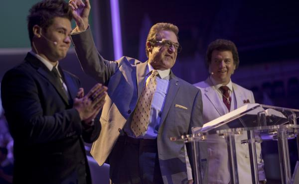 Adam Devine, John Goodman and Danny McBride are all members of the family megachurch business in HBO's The Righteous Gemstones.