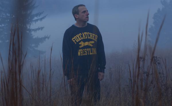 Steve Carell plays John du Pont in Foxcatcher.