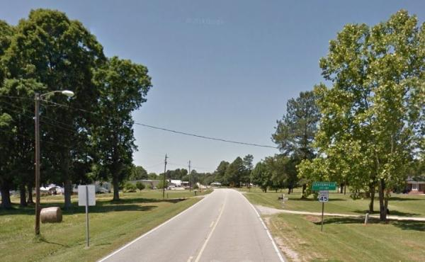 The town of Centerville, N.C., sits at the intersection of two highways about 44 miles northeast of Raleigh, N.C.