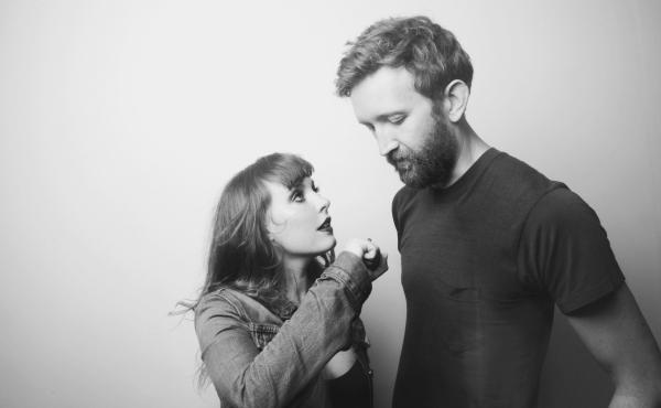 Amelia Meath and Nick Sanborn of Sylvan Esso.