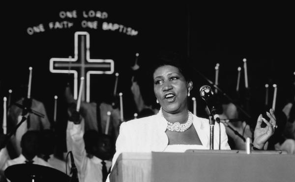 On gospel recordings such as 1987's One Lord, One Faith, One Baptism, Aretha Franklin captured something sacred in the sound of black life.