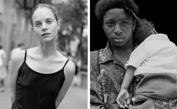 Left: Upper West Side; Right: Harlem. Summer 2002