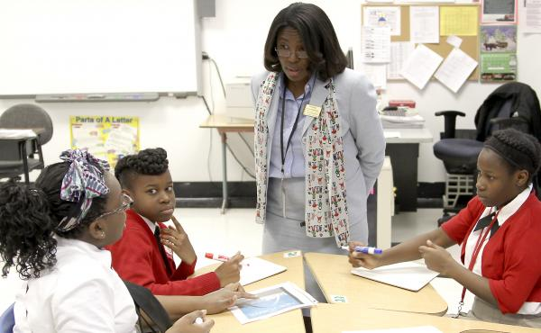 Dr. Tiffany Anderson is credited with turning around the school system in Jennings, Mo.