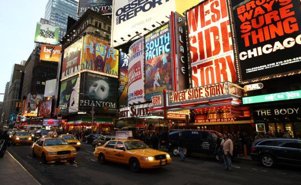 New York City's Broadway in 2009