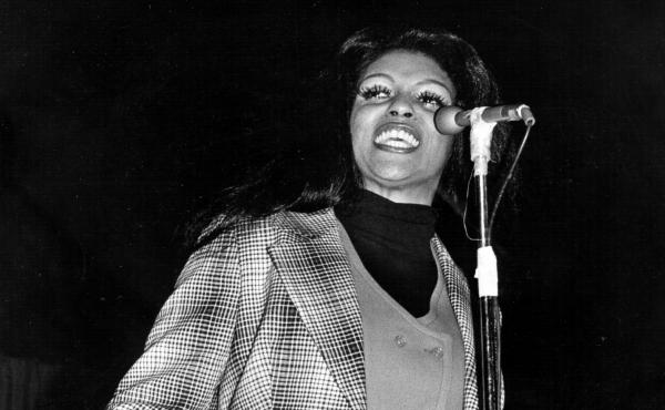 """Lyn Collins, pictured here in 1970, inspired the chorus to Rob Base and DJ E-Z Rock's pioneering hip-hop hit """"It Takes Two."""""""