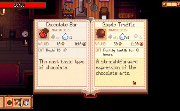 Gamers can practice their chocolate-making arts in Haunted Chocolatier.
