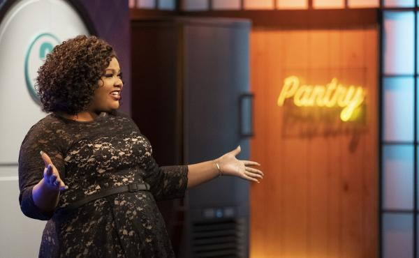 Along with pastry chef Jacques Torres, comedian Nicole Byer hosts Nailed It!, a show that celebrates great failures in cake-making.