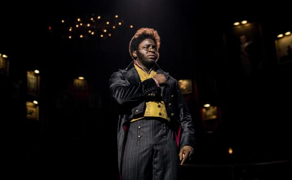 Okieriete Onaodowan had to learn both accordion and piano to play the role of Pierre in Natasha, Pierre and The Great Comet of 1812. He ends his run on the show in mid-August.