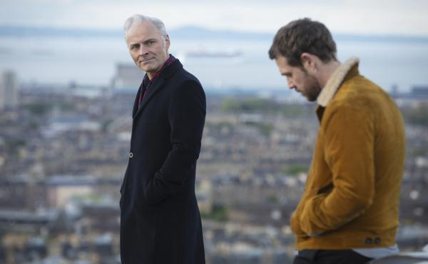 In the PBS Masterpiece series Guilt, Max (Mark Bonnar) and Jake (Jamie Sives) accidentally kill a man and then decide to cover up the crime. The series debuts Sept. 5.