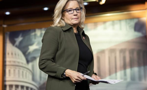 Rep. Liz Cheney of Wyoming is one of 10 Republicans who voted to impeach President Trump on Wednesday.