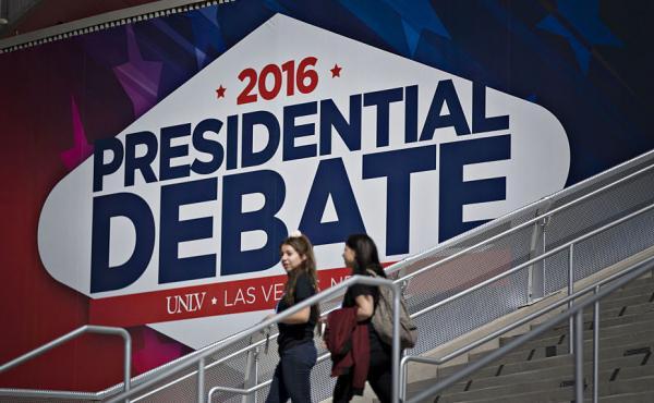 The final presidential debate is Wednesday night on the campus of the University of Nevada, Las Vegas (UNLV) in Las Vegas.