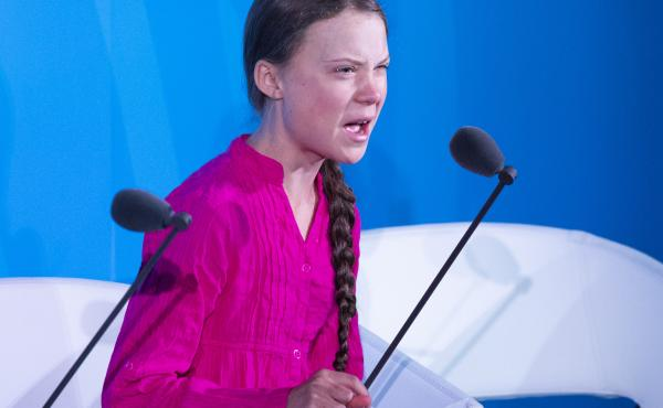 """We'll be watching you,"" Thunberg told world leaders Monday, speaking at the U.N. Climate Action Summit in New York City."