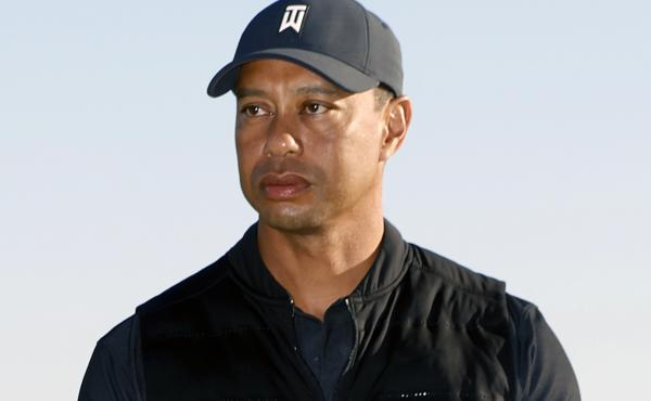 Tiger Woods, pictured at the Genesis Invitational golf tournament in Pacific Palisades, Calif., just two days before the accident on Feb. 23. The golfer was injured in a vehicle rollover in Los Angeles County and had to be extricated from the vehicle.