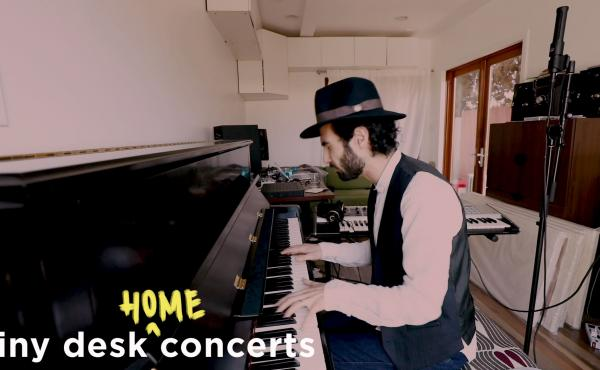 Tigran Hamasyan plays a Tiny Desk (home) concert.
