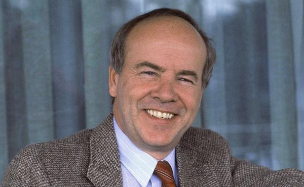 "Tim Conway told NPR in 2010 that he was destined to do comedy. When people inquired about what he might have done other than showbiz, he'd say, ""Nothing, because I'm not capable of doing anything else."" Conway is pictured here in February 1983."