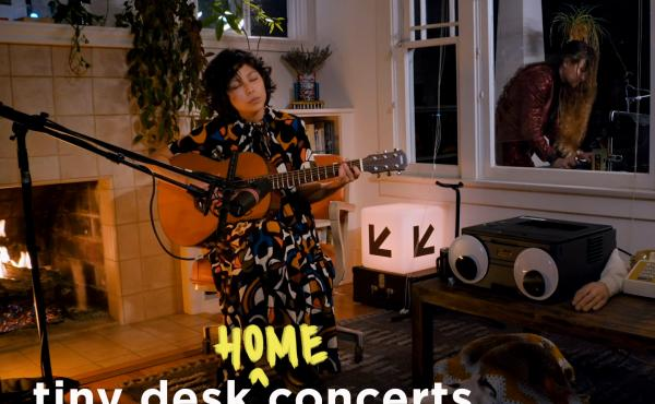 Steady Holiday performs a Tiny Desk (home) concert.