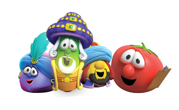 VeggieTales re-launches on the Trinity Broadcasting Network with new episodes this month, starting with a Christmas special called The Best Christmas Gift.