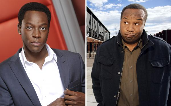 Stephen Agyei (left) and Roy Wood Jr. talk about what it takes to make it in comedy.