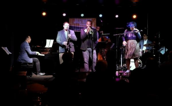 The Baltimore Jazz Collective performs on October 8, 2019.