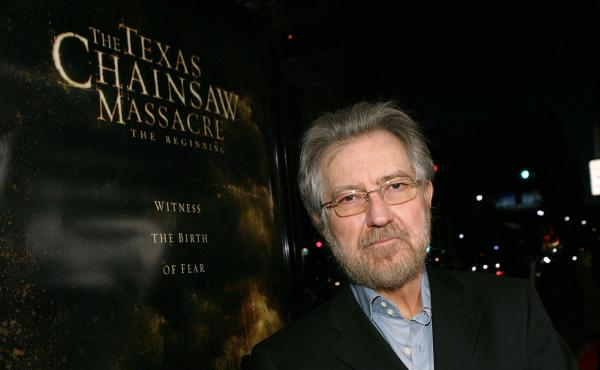 Tobe Hooper arrives at the premiere of New Line's Texas Chain Saw Massacre: The Beginning at Grauman's Chinese Theatre in 2006 in Los Angeles, Calif.