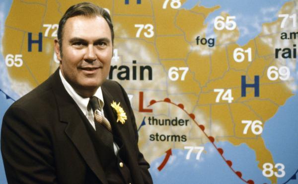 Willard Scott became the Today show's weatherman in 1980.