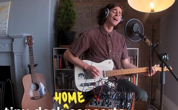 Tom Adams plays a Tiny Desk (home) concert.