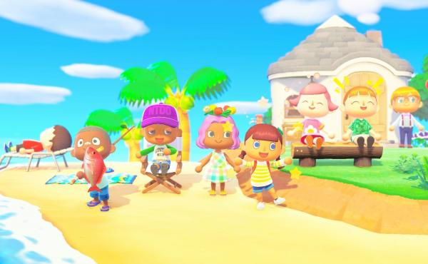 The multiplayer function in Animal Crossing: New Horizons means up to eight people can be on the same island.