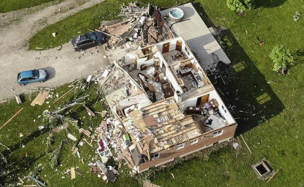 Several tornadoes touched down in highly populated areas around Dayton, Ohio.