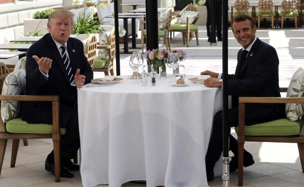 U.S President Donald Trump has lunch with French President Emmanuel Macron in Biarritz. Leaders of some of the world's major economies have arrived in France for the G7 summit.