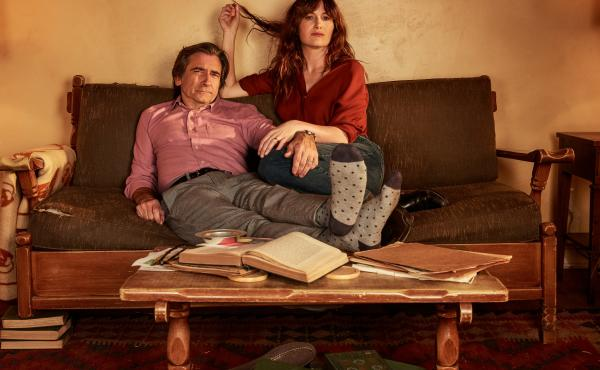 Kathryn Hahn and Griffin Dunn play a married couple on the new Amazon series I Love Dick.
