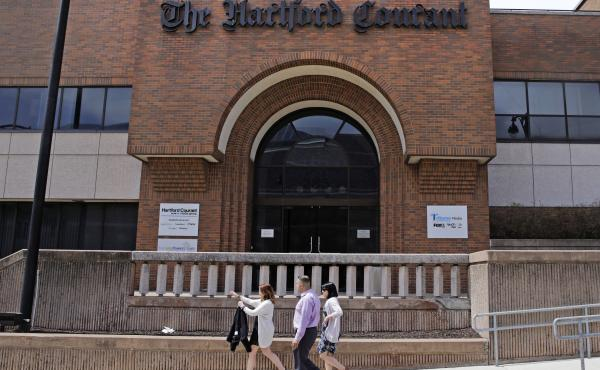 Tribune Publishing has agreed to recognize a new union representing journalists at the Hartford Courant in Connecticut's capital.