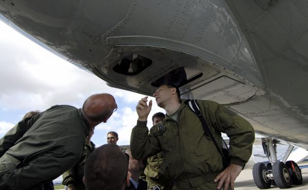 Open Skies would be the third major international military pact Trump has withdrawn the U.S. from. This photo from 2007 shows Czech soldiers inspecting cameras on a U.S. Boeing plane at a military airbase in Pardubice, Czech Republic, as part of the agree