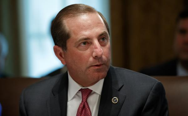 """This is the next important step in the Administration's work to end foreign freeloading and put American patients first,"" Health and Human Services Secretary Alex Azar said in a statement detailing the plan."