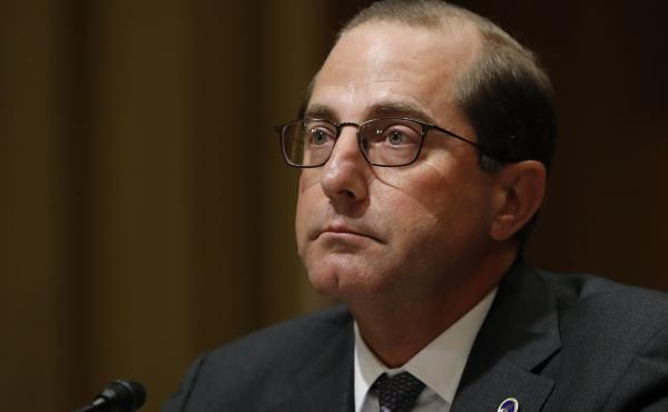 Health and Human Services Secretary Alex Azar, seen here last month, said that the government will meet a federal judge's deadlines for family reunification.